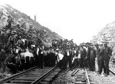 """On July 27, 1906, the dedication ceremony was held near Quarryville in an area called the """"Deep Cut"""" officially opening the A&S Branch."""